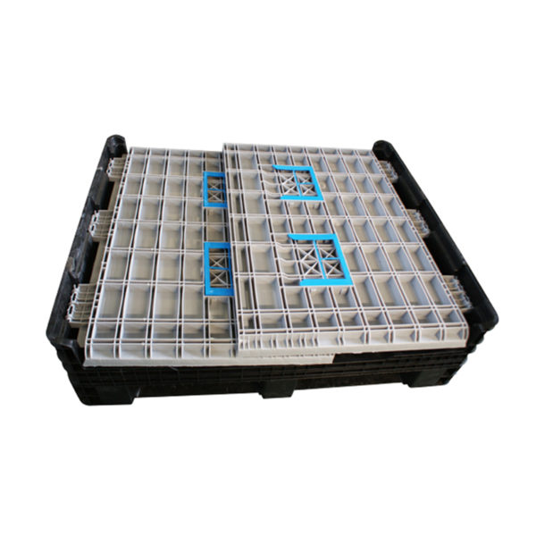 collapsible plastic box pallets